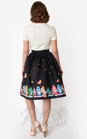Unique Vintage X Care Bears Skate Line Care Bears Swing Skirt back