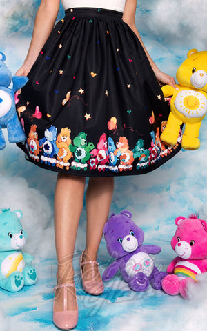 Unique Vintage X Care Bears Skate Line Care Bears Swing Skirt model