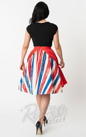 Unique Vintage 1950s The Greatest Skirt On Earth Swing Skirt back