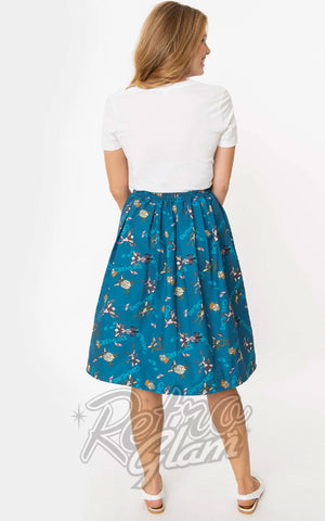 Unique Vintage X Gremlins First Batch Jayne Skirt back
