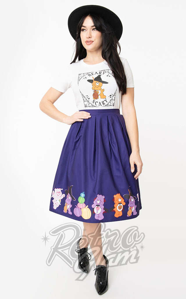 Unique Vintage X Care Bears Halloween Jayne Skirt