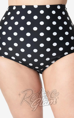 Pinup polka dot swimsuit