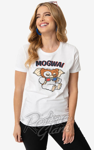 Unique Vintage X Gremlins Mogwai Fitted T-Shirt