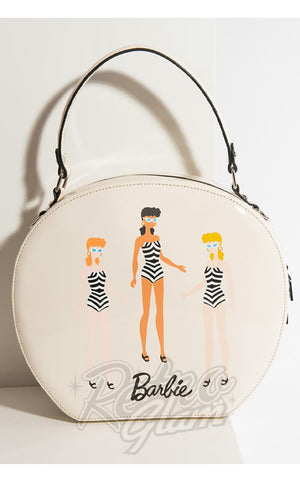 Barbie Unique Vintage Cream Swim Beauties Circle Bag