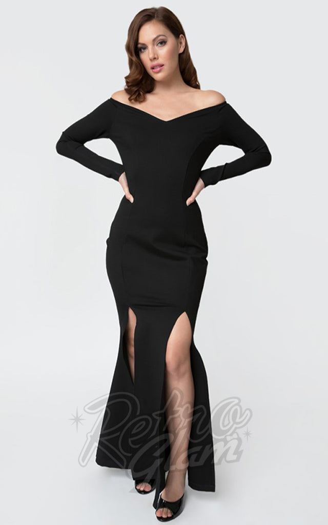 Unique Vintage Vampira Gown