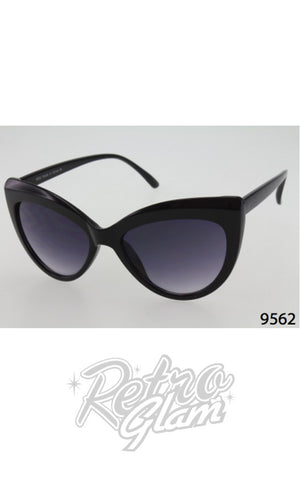 Cat Eye Sunglasses style 9562 Black