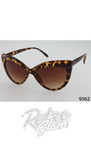 Cat Eye Sunglasses style 9562 Tortoise Shell