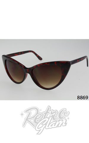 Cat Eye Sunglasses Tortoise style 8869
