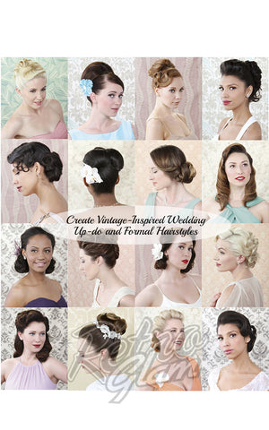 Vintage Hairstyles for Formal by Lauren Rennells