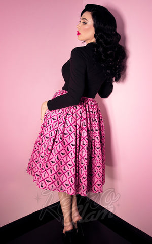 Vixen by Micheline Pitt Mean Girls Club Print Vixen Skirt back