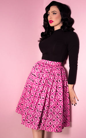 Vixen by Micheline Pitt Mean Girls Club Print Vixen Skirt