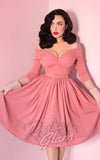 Vixen by Micheline Pitt Starlet Dress in Rose Pink
