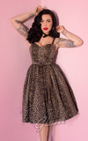 Vixen by Micheline Pitt Sweetheart Dress in Wild Leopard Print