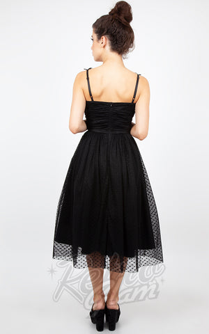 Jawbreaker Carrie Dark Heart Formal Dress back