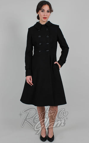 Voodoo Vixen Grace Coat in Black