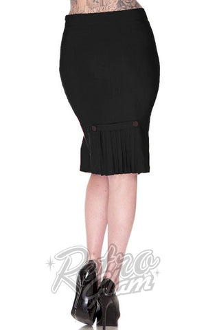 Voodoo Vixen Marli Skirt in Black Back