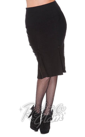 Voodoo Vixen Marli Skirt in Black