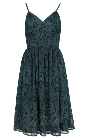 Voodoo Vixen Leah Peacock Dress