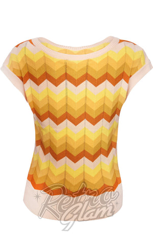 Voodoo Vixen Yana Chevron Sweater