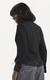 Voodoo Vixen Madeline 40's Blouse in Black back