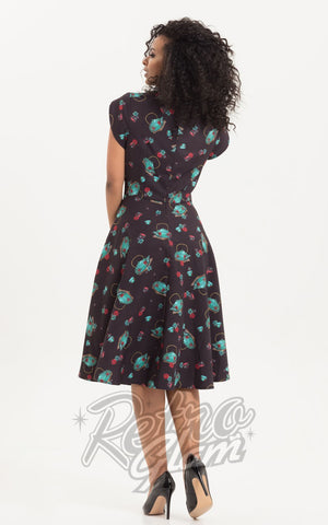 Voodoo Vixen Mia Tea Time Day Dress back