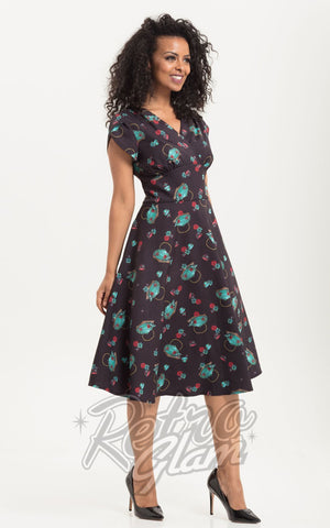 Voodoo Vixen Mia Tea Time Day Dress
