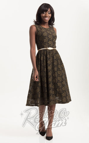Voodoo Vixen Sophia Leaf Dress