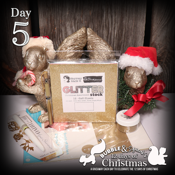 12 Days of Bubble and Squeak Giveaways-Day 5