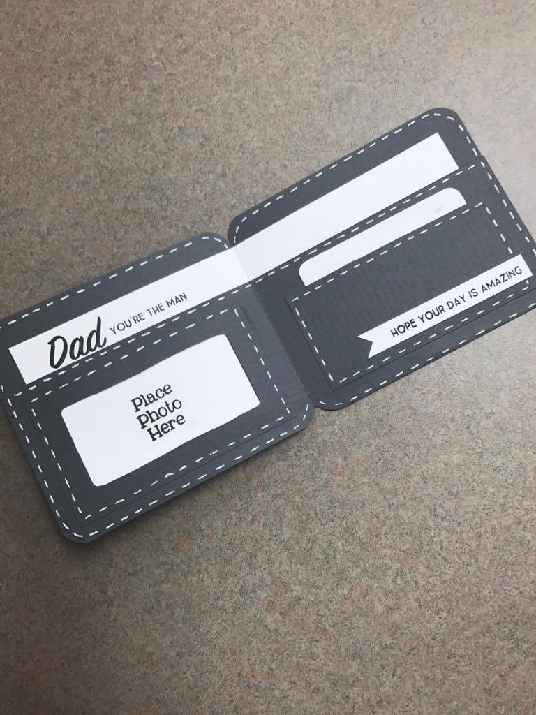 Father's Day Wallet Card