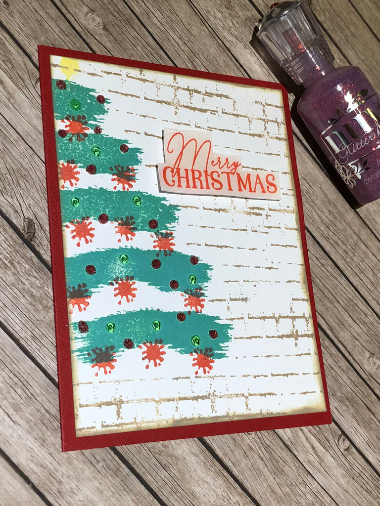 Christmas in July-Christmas Tree Card