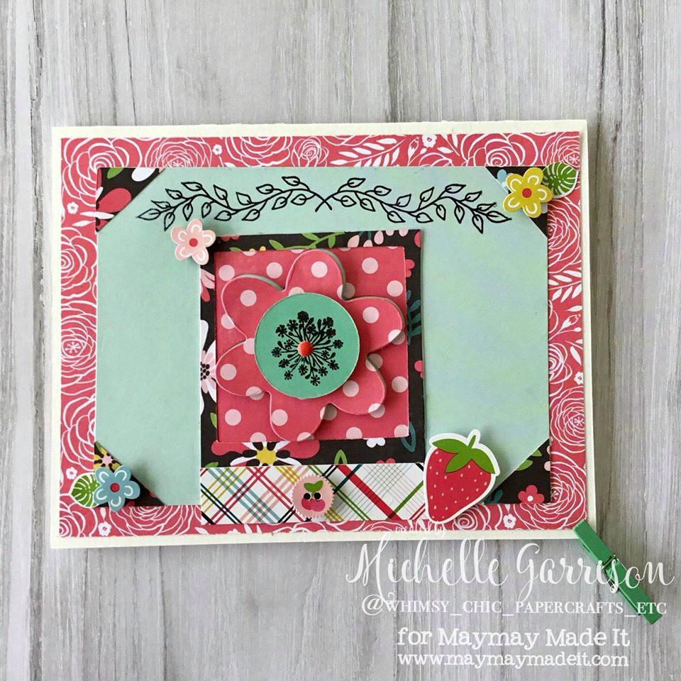 "IG DT ""May Flowers"" Challenge Created by Michelle Garrison"