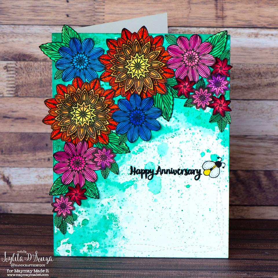 "IG DT ""May Flowers"" Challenge Created by Joylita D'Souza"