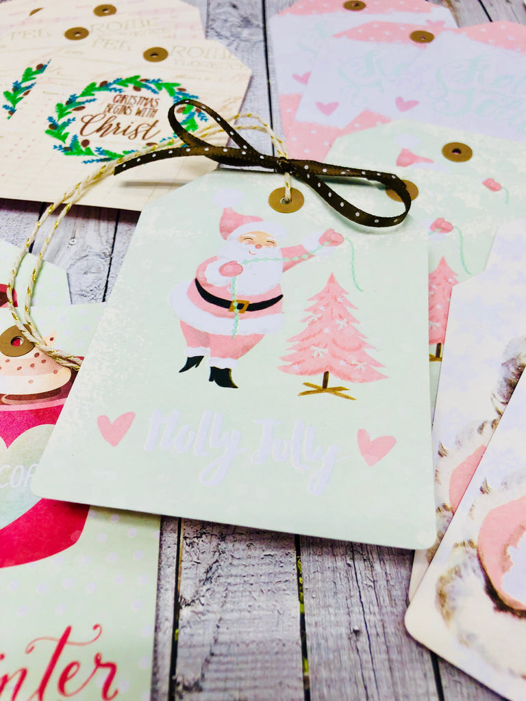 42 Christmas Tags in 1 hour and 17 minutes