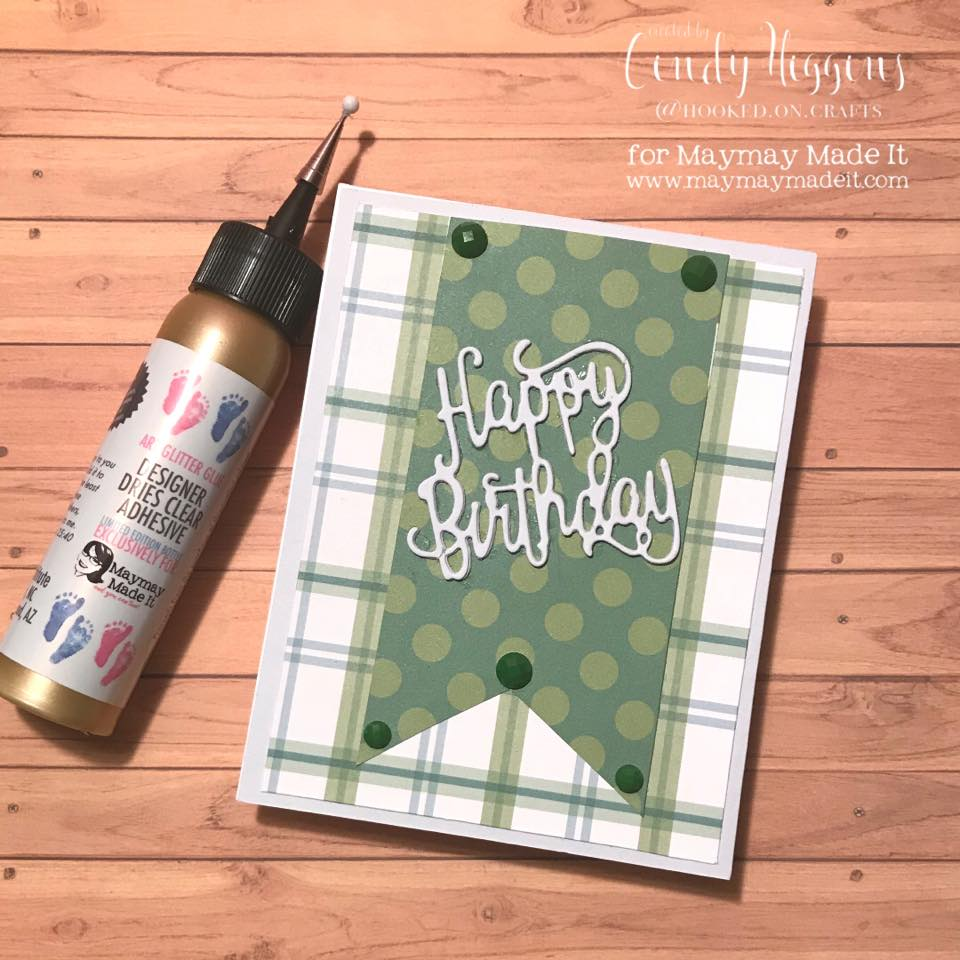 "IG DT ""Masculine Birthday Card"" Challenge created by Cindy Higgins"