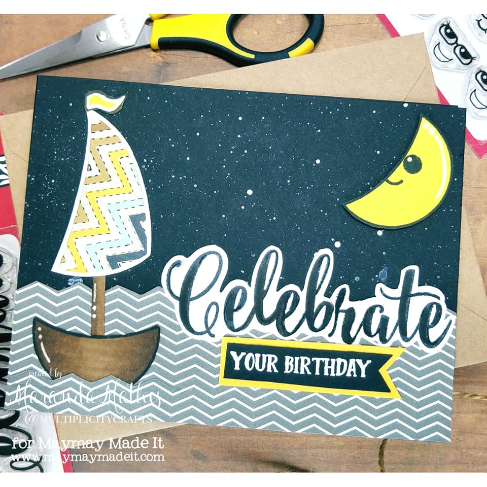 "IG DT ""Masculine Birthday Card"" Challenge Created by Maranda Mathis"