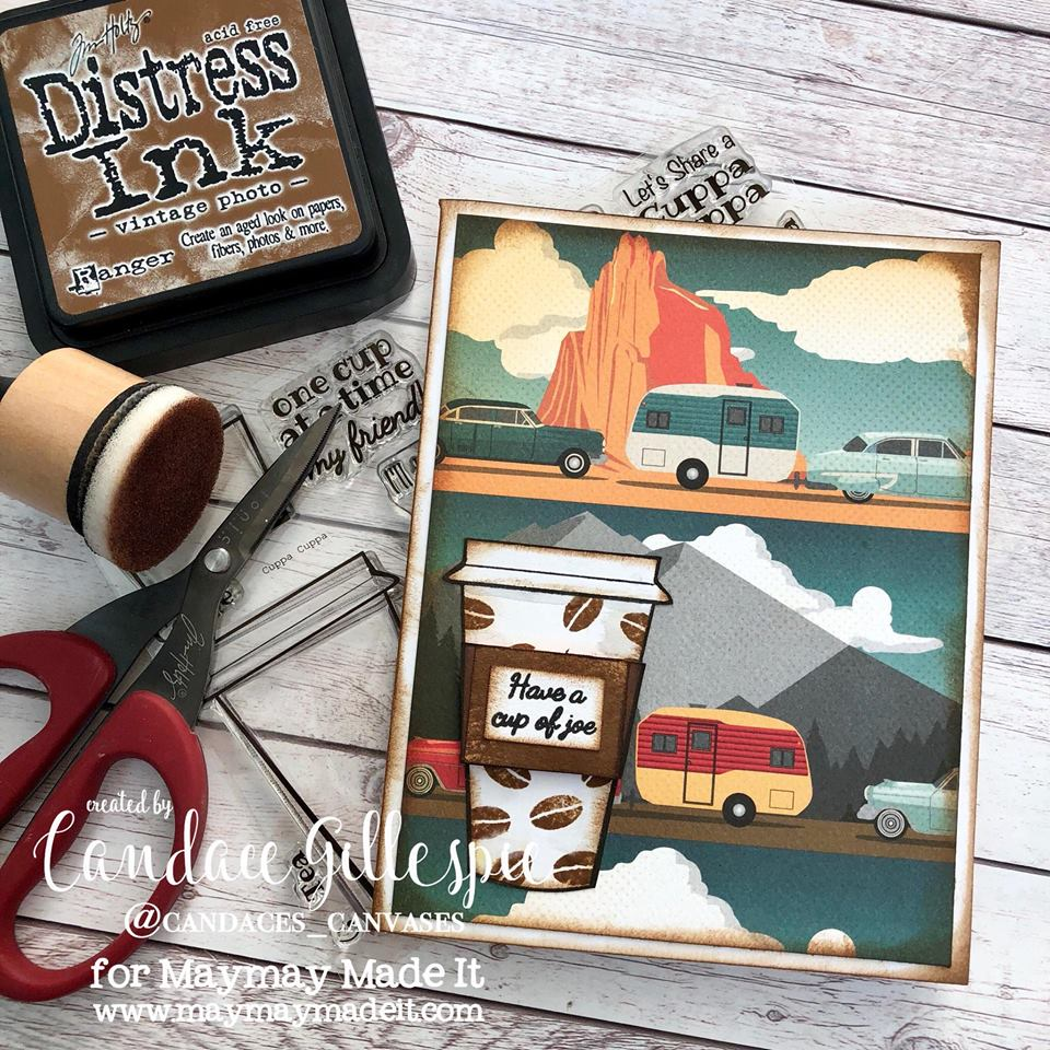 "IG DT Alumni ""Masculine Birthday Card"" Challenge Created by Candace Gillespie"