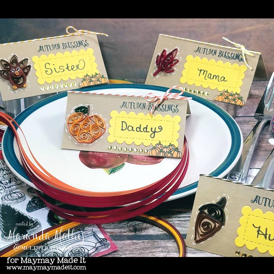 IG DT Place Card Challenge created by Maranda Mathis