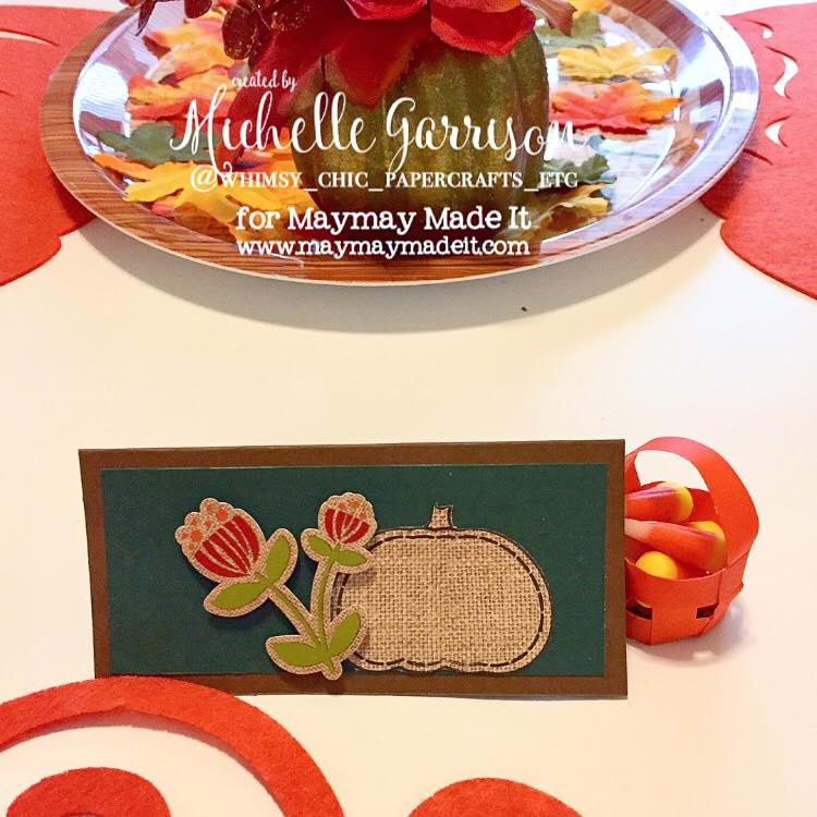 "IG Alumni Sept Challenge ""Place Cards"" created by Michelle Garrison"