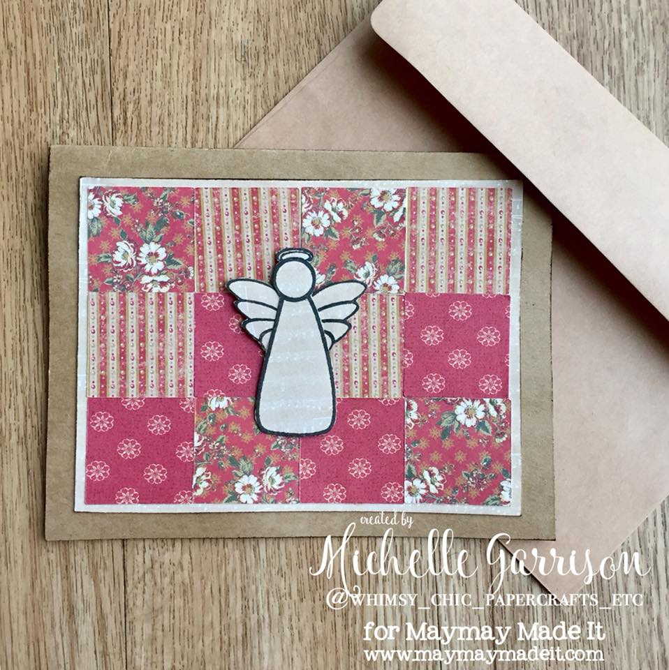 World Card Making Day-Mission InCARDible-Sympathy Card by Michelle Garrison