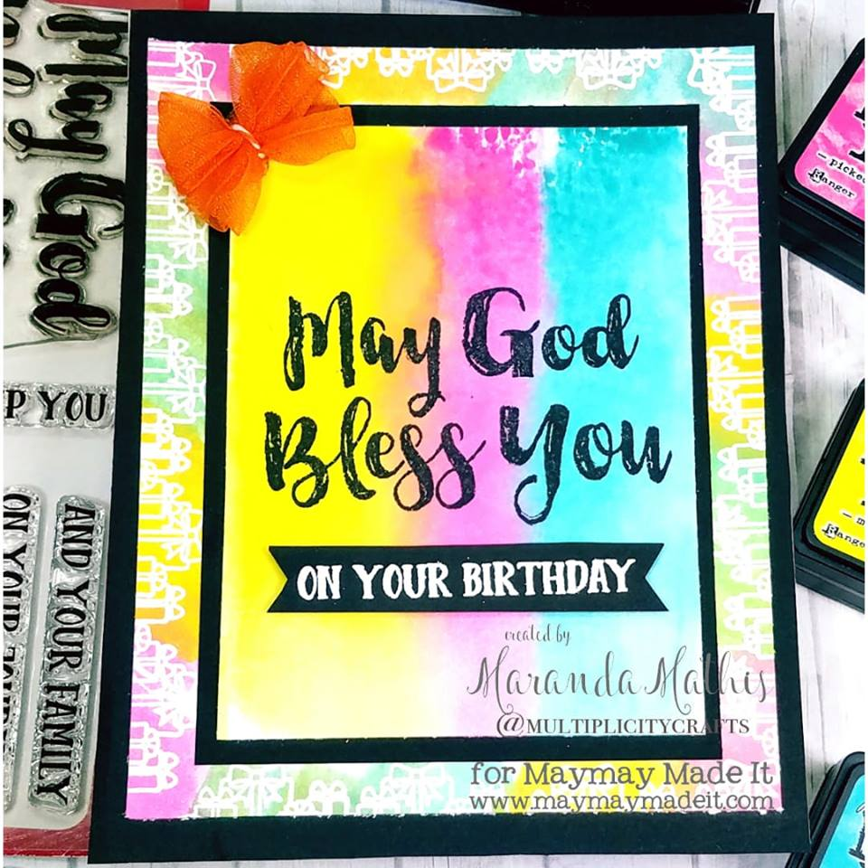World Card Making Day-Mission InCARDible- Female Birthday Card by Maranda Mathis