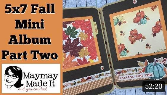 Fall Break Envelope Mini Album Part One, Two and Three