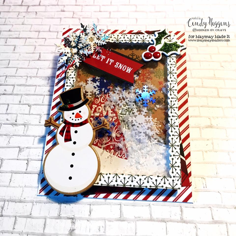 "IG DT ""Shaker Card"" Challenge created by Cindy Higgins"
