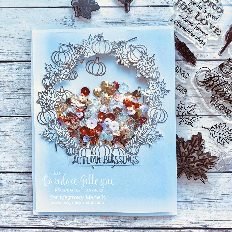 "IG Alumni DT ""Shaker Card"" Challenge by Candace Gillespie"