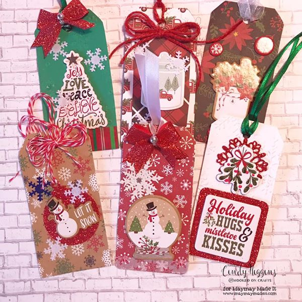 "IG DT ""Gift Tag"" Challenge project created by Cindy Higgins"
