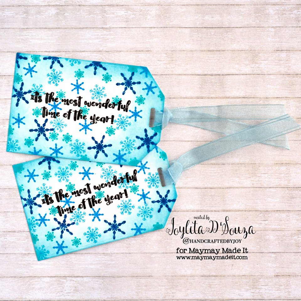 "IG Alumni DT ""Gift Tag"" Challenge created by Joylita D'Souza"