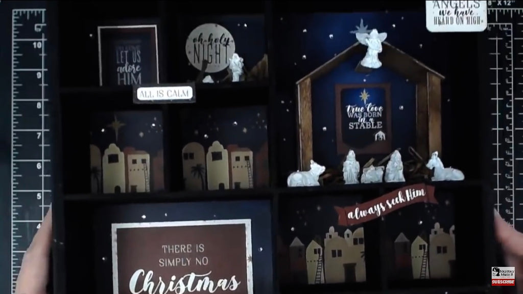 Manger Scene Shadow Box Part Three~{final}