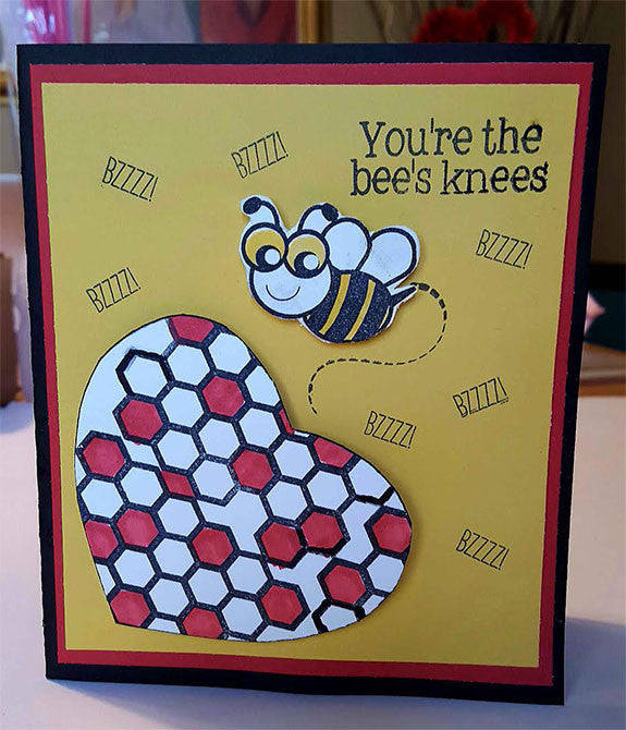 The Bee's Knees Stamp Set