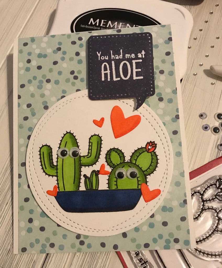 You Had Me at Aloe Card