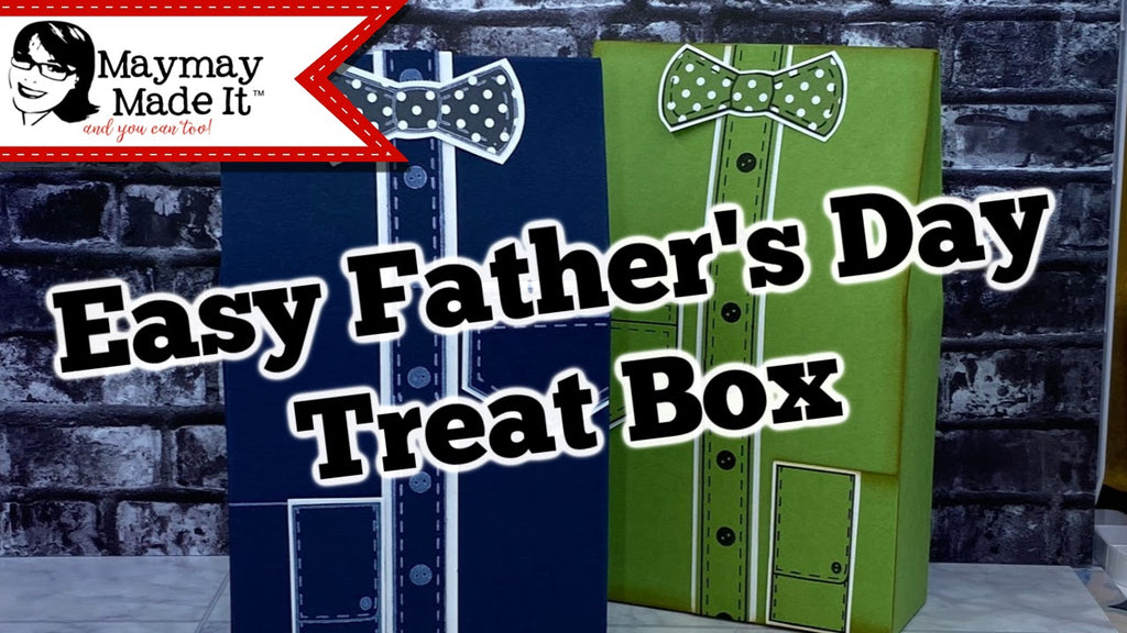Easy Father's Day Self Closing Men's Shirt Treat Box