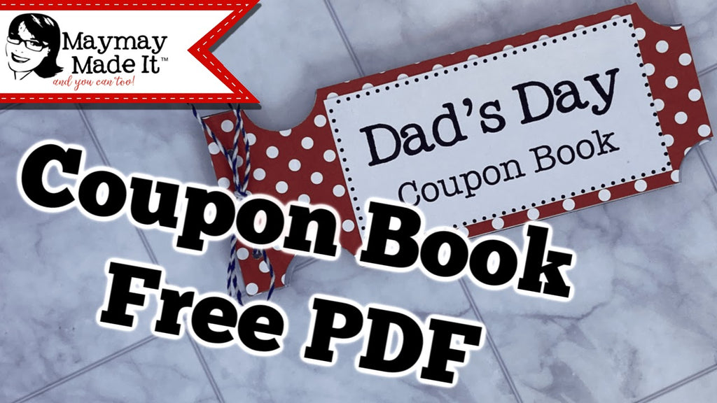 DIY Coupon Book for Dad Tutorial with Free PDF